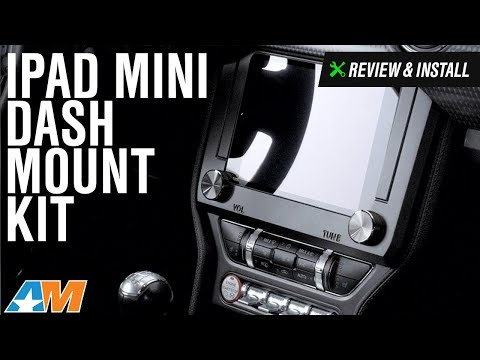 2015-2017 Mustang IPad Mini Dash Mount Kit Review & Install