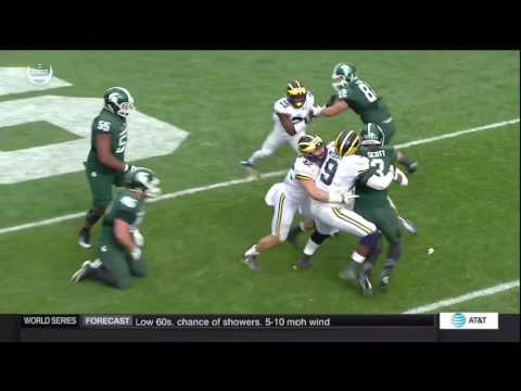 2016 Michigan Football Highlights at MSU