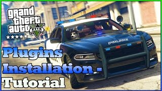 GTA 5 LSPDFR: Plugin Installation - Tutorial [Deutsch{German]