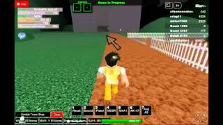 A stupid guest runs from Zombies XD-Roblox