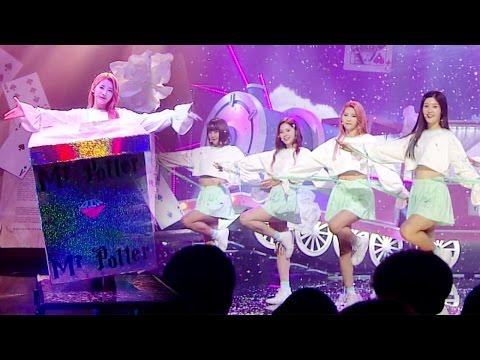 《Comeback Special》 DIA (다이아) - Mr. Potter + Magic performance @인기가요 Inkigayo 20160925