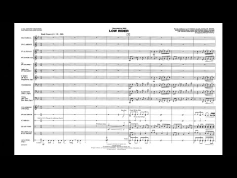 Low Rider arranged by Michael Sweeney