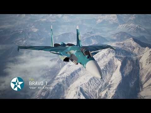 Ace Combat 7 Multiplayer | Waiapolo Deathmatch | Su-33 with EML