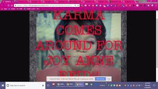 Karma Comes for Joy Anne Reid
