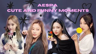 AESPA (에스파) CUTE AND FUNNY MOMENTS