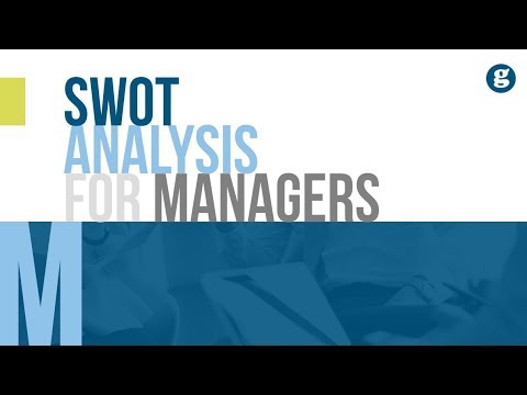 SWOT Analysis For Managers