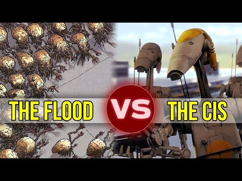 The Flood vs The Confederacy of Independent Systems (CIS) | Who Would Win?