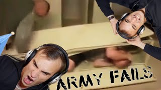 Estonian Soldier watches Army Fails