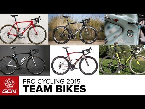 Pro Cycling - 2015 Team Bikes