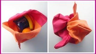 {Step-by-Step Sewing} DIY Bento Bag