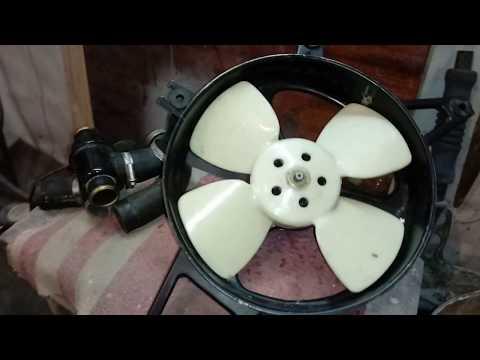 6.Новая система охлаждения Славута/Таврия.Диффузор от ваз 2110.Установка радиатора.