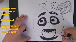 How to draw Chica