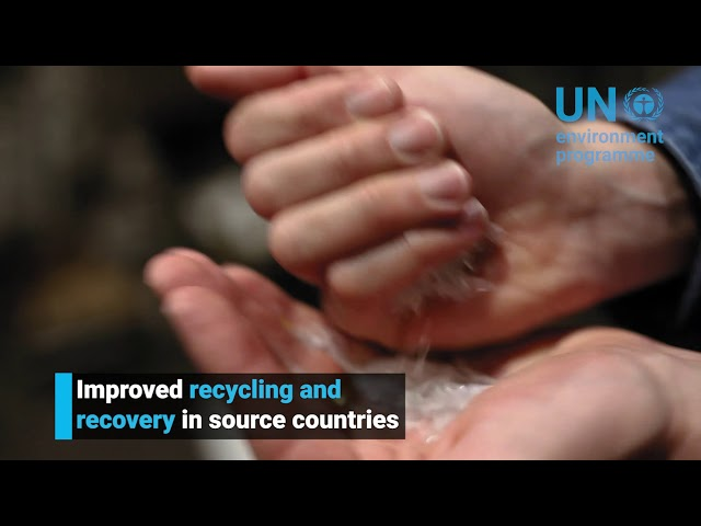 Plastic pollution solutions: Trade in Plastic Waste