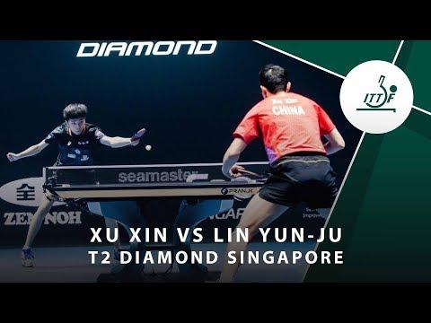 Xu Xin Vs Lin Yun Ju   T2 Diamond Singaopore (Final)