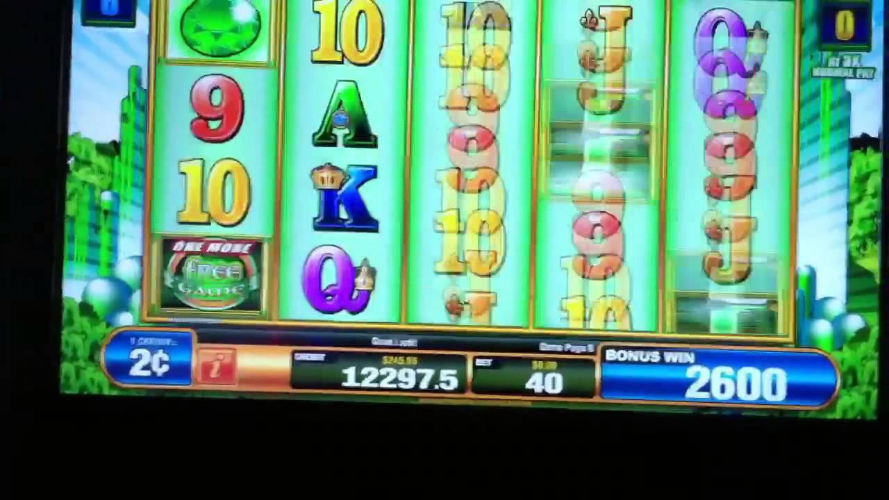 Emerald Falls Slot Machine
