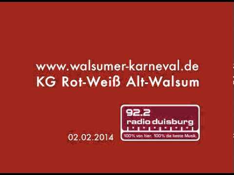 RADIO DUISBURG - KG Rot-Weiß Alt-Walsum
