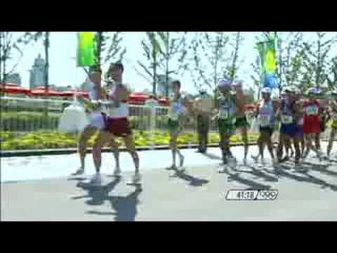 Athletics Men's 20KM Race Walk Beijing 2008 Summer Olympic Games