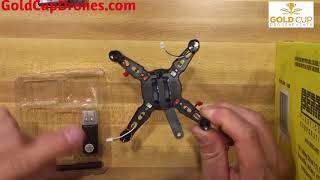 DIY Drone Build 1 - Beginner Mini Racing Drone - Under 30 minute Build