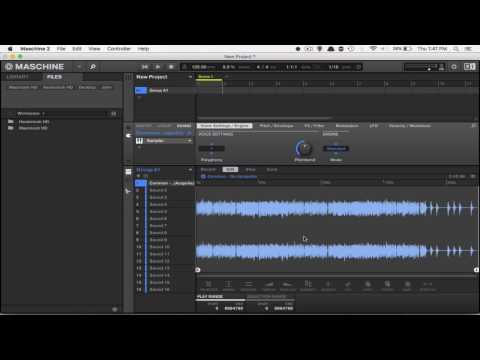 HOW TO SAMPLE MP3 FILES INTO MASCHINE THE EASY WAY!