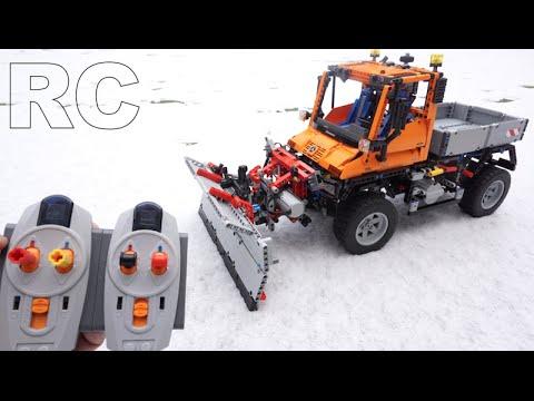 lego technic 8110 rc motorized unimog u400 mercedes benz. Black Bedroom Furniture Sets. Home Design Ideas