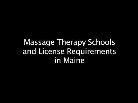 Massage Therapy Schools & Certification Requirements in Maine