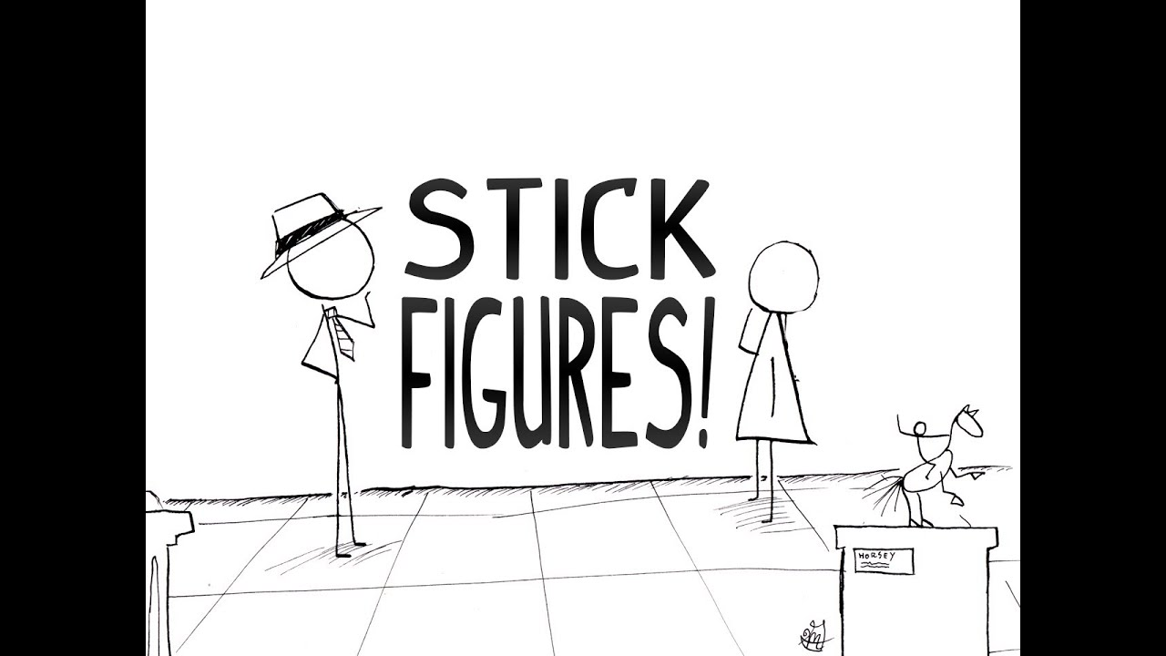stick figure art youtube rh youtube com Stick Peaple stick people art with sticks