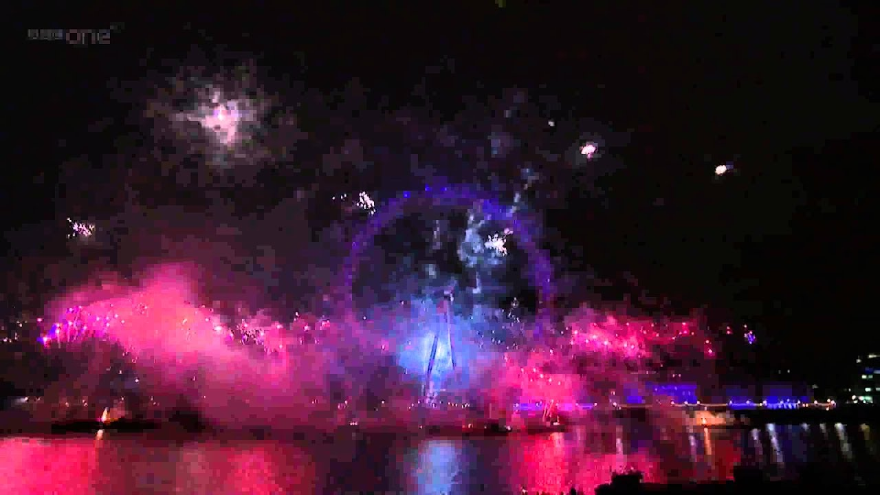 London Heathrow Cabs Chauffeur – London Eye 2012 New Year BBC Fireworks