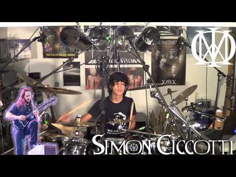 Erotomania - Dream Theater - Drum Cover - Using Jammit