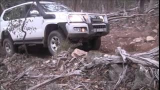 Toyota Landcruser Prado 2013 Compilation 120, 150 offroad 4wd 4x4 Mud, Rocks, Hills