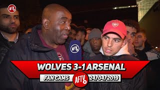 Wolves 3-1 Arsenal | Ozil Is On 350k A Week & He Walks Around Doing NOTHING!