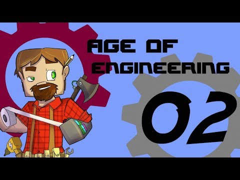 FTB Age of Engineering 1.10 Minecraft Episode 2: The Industrial Age!