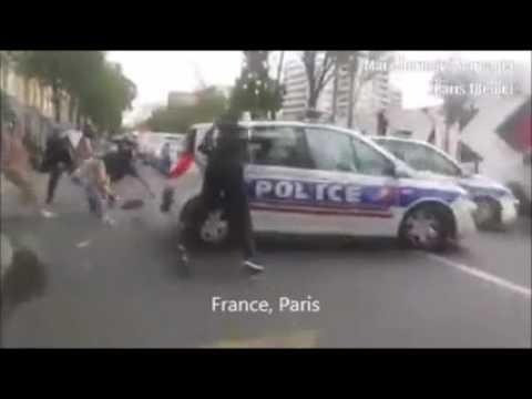 Police USA vs Police France
