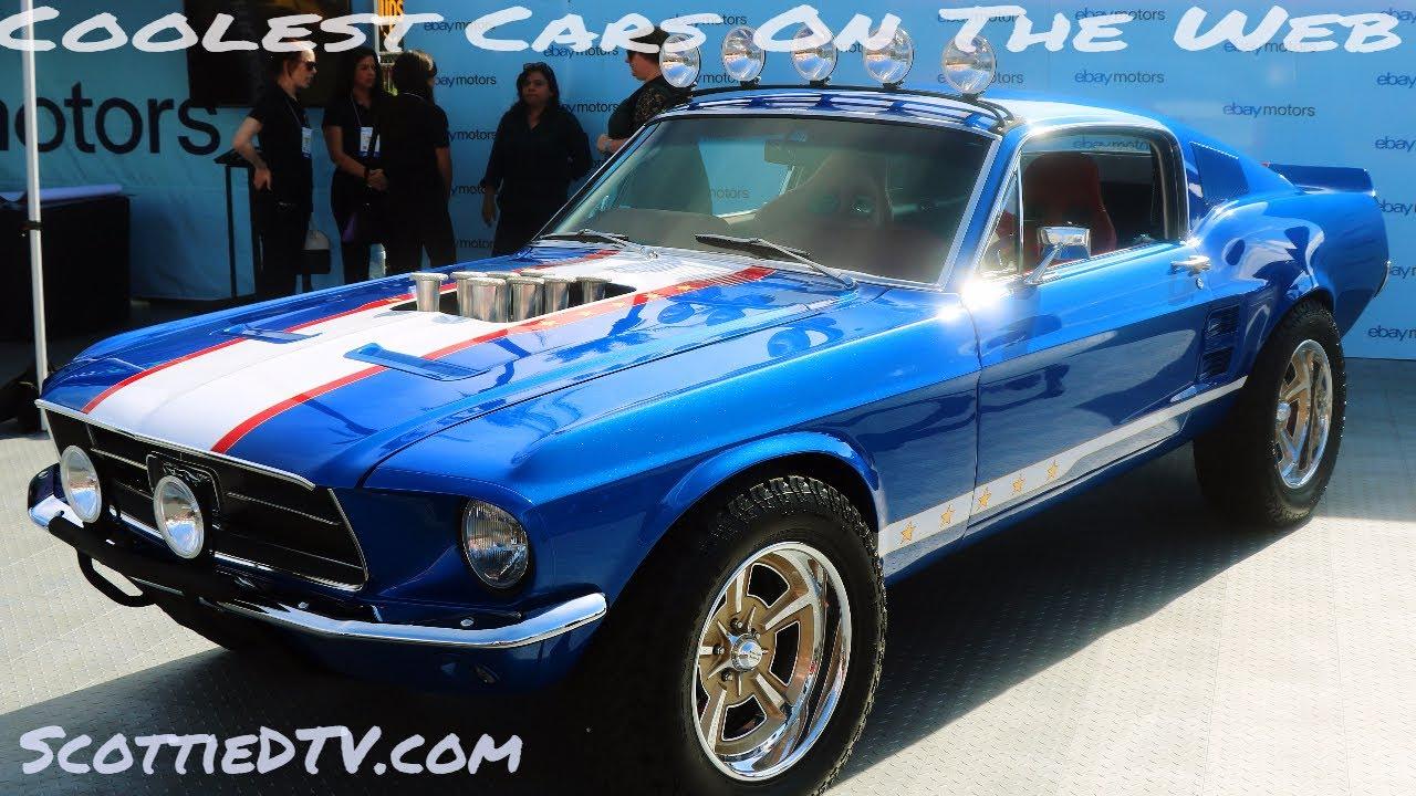 Boasting 683 horsepower this fastback is one baaaad car. 1967 Ford Mustang Rowdy Restomod Ebay Motors The Sema Show 2017 Youtube
