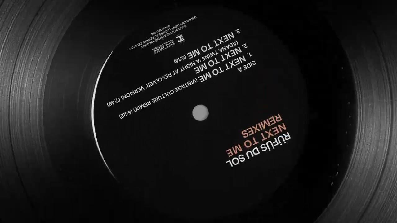 RÜFÜS DU SOL - Next To Me (Vintage Culture Remix) [Official Audio]