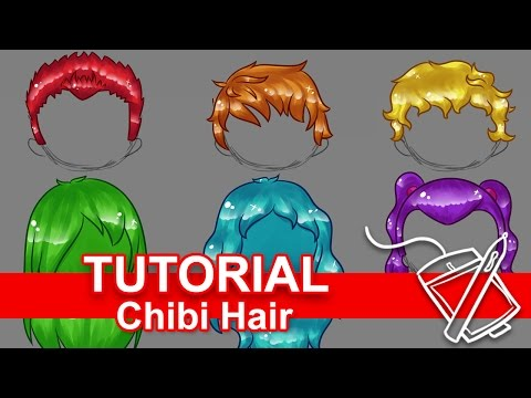 Tutorial: How to Draw Chibi Hair [Six Ways!] (For Beginners)