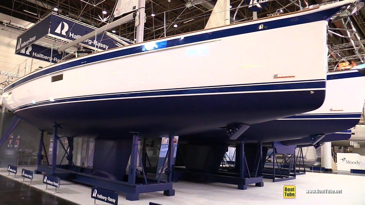 2019 Hallberg Rassy 44 Sailing Yacht - Deck and Interior Walkaround - 2019  Boot Dusseldorf