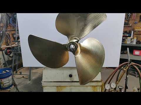 How to install an inboard propeller by propshopinc.com