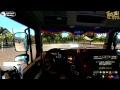 [POV]EuroTruckSimulator2 1.28 with promods 2.20  G27+TrackIR JAPAN 20170909morning