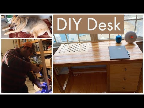 DIY Desk with Drawers | How to make | (For Cyrus)