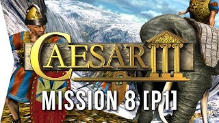 Caesar III ► #8 Mediolanum [Part 1] & 3-Deep Housing! - [HD Campaign Gameplay]