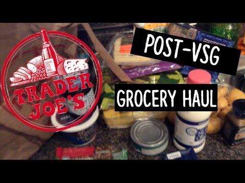 Trader Joe's Grocery Haul! || Post-VSG Foods!