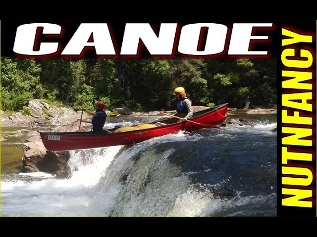 Fast Water Canoeing with a Beginner