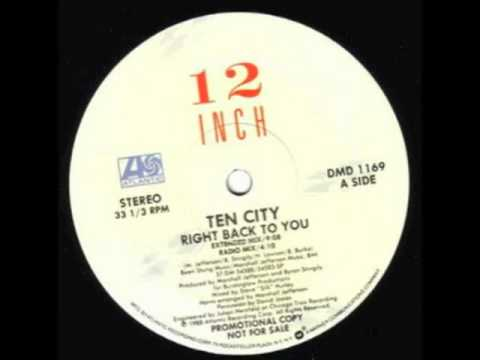 Ten City - Right Back To You (Sat-One Edit)