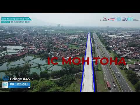 Perkembangan Seksi 4 Proyek Kereta Cepat Jakarta Bandung, Periode Agustus 2021