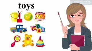 Урок 7 Англійська мова 1 клас. My Toys Частина 1