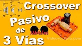 Construcción de un divisor de frecuencias o crossover