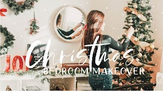 Decorating My Room For Christmas! - Holiday Bedroom Makeover