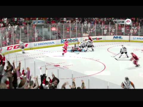 NHL 12 Be A Pro: Chicago at Detroit, Exhibition Game Three