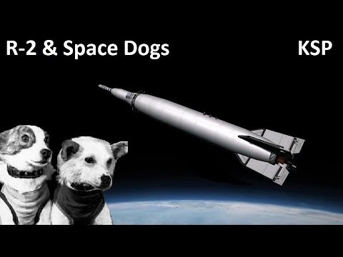 Space Race KSP - R-2 Geophysical Rocket - Making History