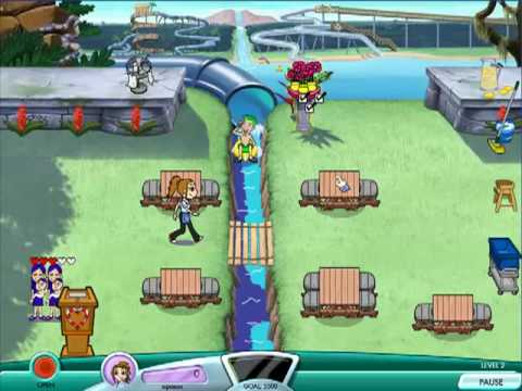 Diner Dash: Seasonal Snack Pack - Coral Cove Cafe Level 1 & 2